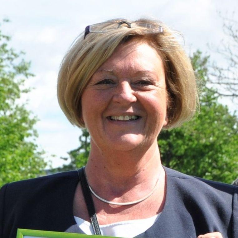 Rita Triest, voorzitster van het bijzonder comité van de sociale dienst.