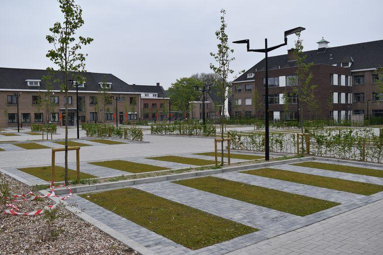 De nieuwe parking aan het OCMW in Zottegem wordt een 'blauwe zone'.