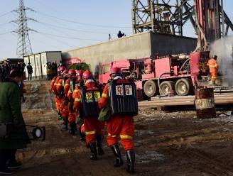 Chinese mijnwerkers zitten al een week ondergronds vast na explosie