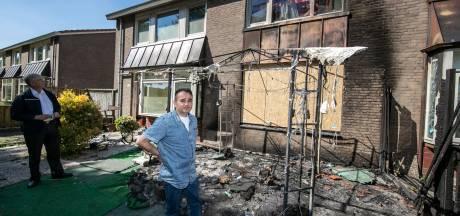 Afhandeling brand vergt tijd, bewoners opgevangen