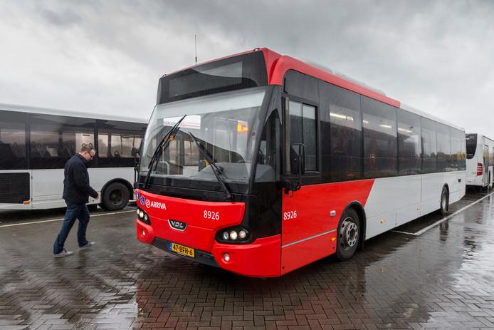 Arriva heeft ingrijpende maatregelen genomen vanwege de werkzaamheden bij de Zuidwal.