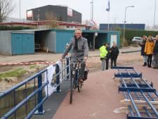 Fietssnelweg F35 heeft er in Hengelo een brug bij