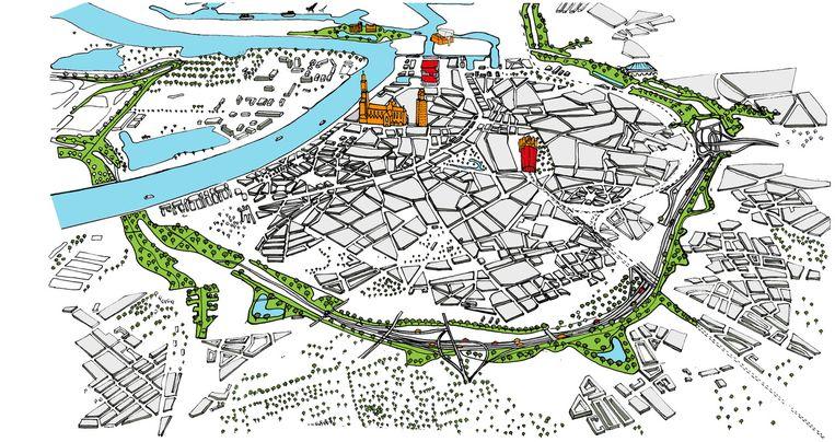 Vorig jaar zijn 22 leefbaarheidsprojecten geselecteerd op en rond de Antwerpse ring