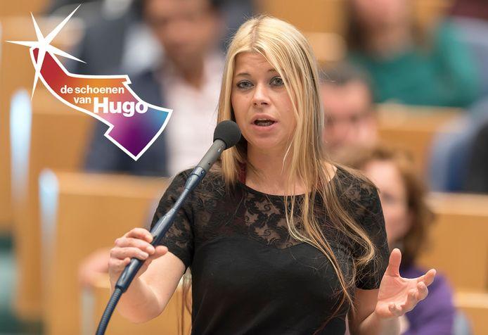 Lisa Westerveld krijgt nog weleens commentaar op haar blonde lokken.