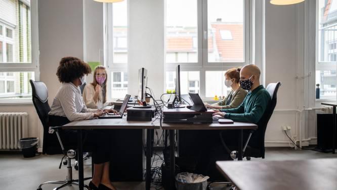 """""""1 op 5 bedrijven laat nog niet alle mogelijke werknemers telewerken"""""""
