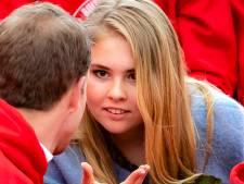 Nederland ziet prinses Amalia ontluiken