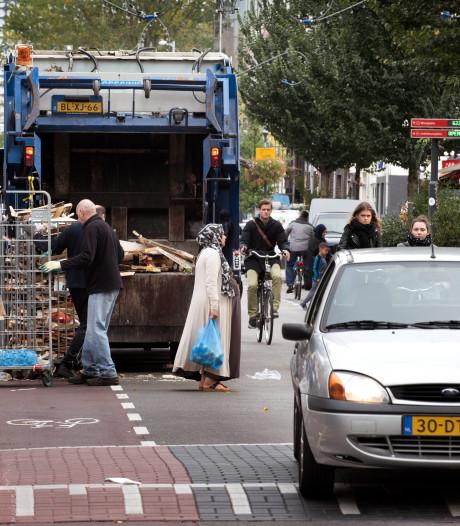'Machogedrag allochtone jonge mannen zorgt voor verkeersproblemen op Utrechtse Kanaalstraat'