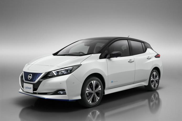 De nieuwste versie van de Nissan Leaf komt verder
