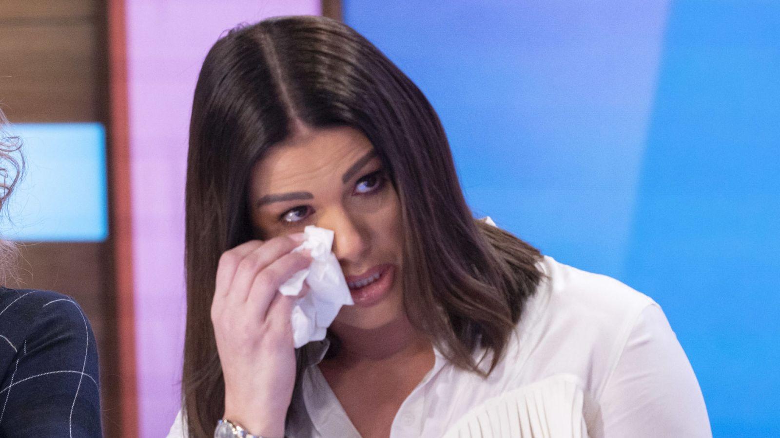Rebekah Vardy hield het niet droog tijdens de tv-show.