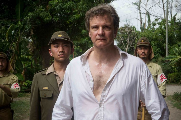 Colin Firth in The Railway Man van Jonathan Teplitzky. Beeld