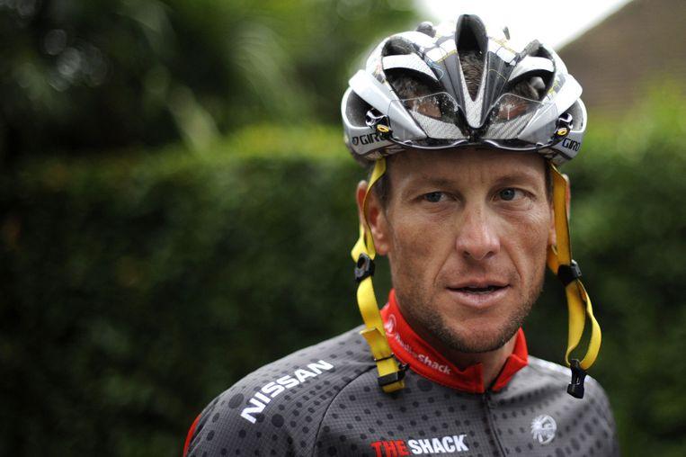 Archiefbeeld van Lance Armstrong uit 2010. Beeld anp