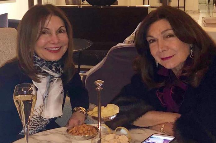 Emma Afra, 63 ans et Viviane Brahms, 75 ans.