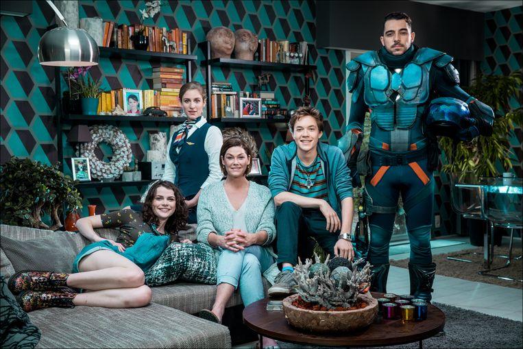 De cast van 'Buck': Ina De Winne, Tine Roggeman, Ini Massez, Bram Spooren en Robbert Vervloet.