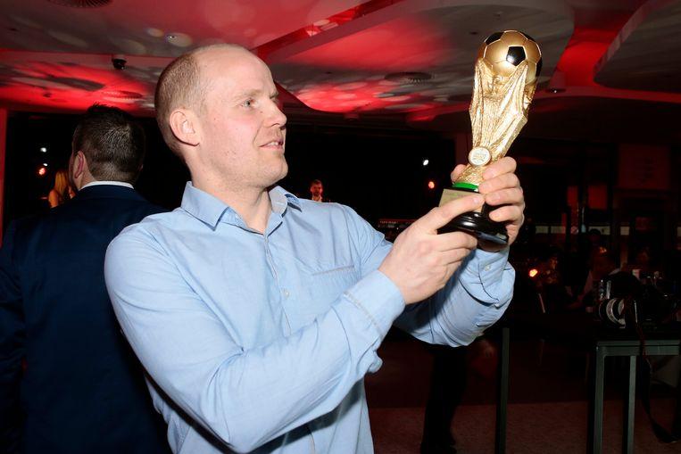 Ton Dekkers met zijn Golden Palace Ball.