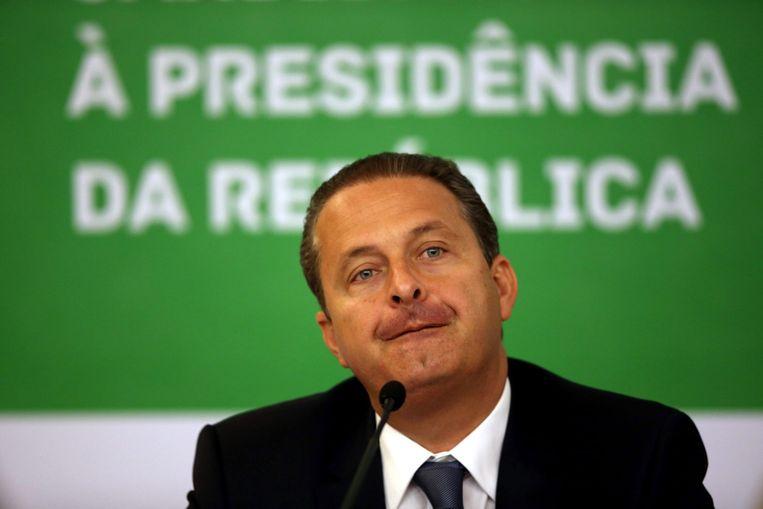 Eduardo Campos op archiefbeeld (30 juli) Beeld epa