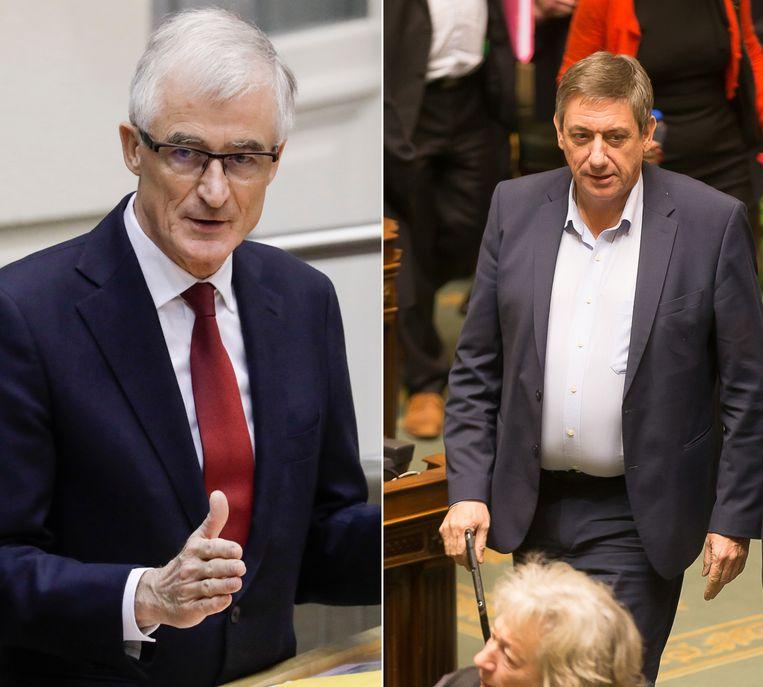 Geert Bourgeois en Jan Jambon.