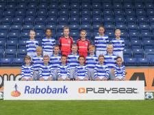Waar zijn de coaches en de begeleiders op deze foto?