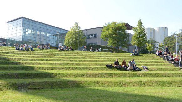 De campus van de VUB.
