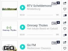 Partij voor Zeeland maakt app met tien lokale radiozenders