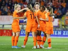 Leeuwinnen verslaan Denemarken in eerste wedstrijd play-offs