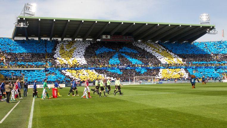 De supporters van Club Brugge willen de grote rivaal uit Brussel een ontvangst van jewelste bezorgen.