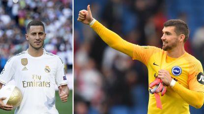 """Grappende Mathew Ryan haalt opgelucht adem nu Eden Hazard vertrekt naar Real: """"Blij dat hij het afbolt"""""""