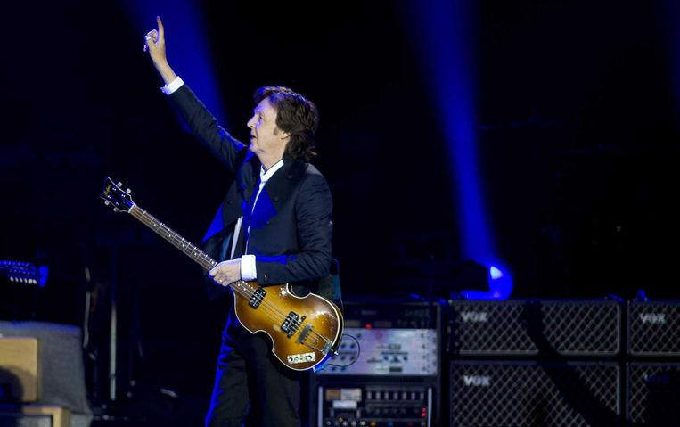Paul McCartney in Ziggo Dome. Beeld anp