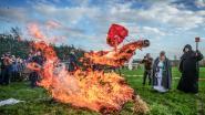 Video: zeer grote opkomst voor Borelle: na jaarlijks vuurfeest kan de lente beginnen