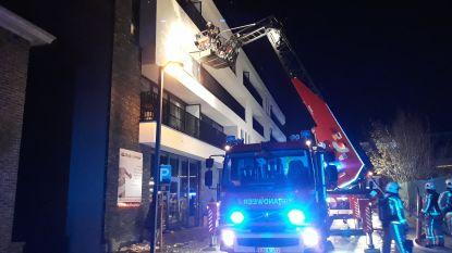 Appartementsgebouw in Aalter geëvacueerd na brand