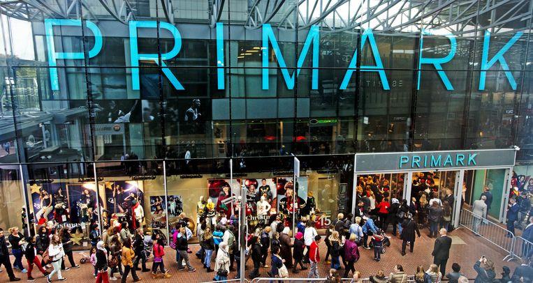 Primark tijdens de opening van de vijfde vestiging in Nederland Beeld anp