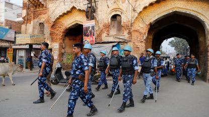 """Makers van provocerende berichten over bouw hindoetempel in India opgepakt om """"rust te bewaren"""""""