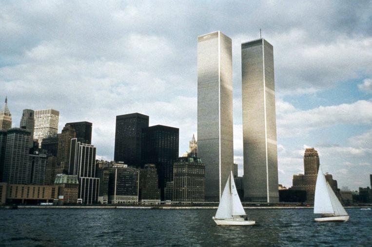 Het World Trade Center in 1972 Beeld ap