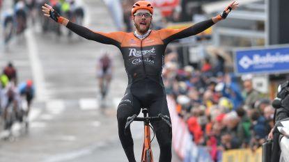 Van Schip slaagt in fantastisch nummer: Nederlander houdt peloton af in Baloise Belgium Tour