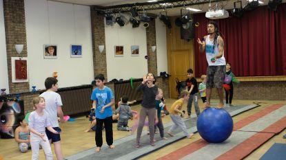 Kinderen van Circus Kummelé tonen hun kunstjes