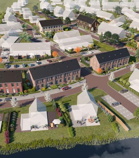 Bezwaren van buren breken bouw in De Dijkjes in Elburg op