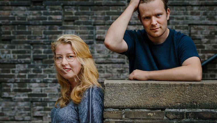 Alba van Vliet (l) volgt Tijmen de Vos op als voorzitter van de Asva Beeld Marc Driessen