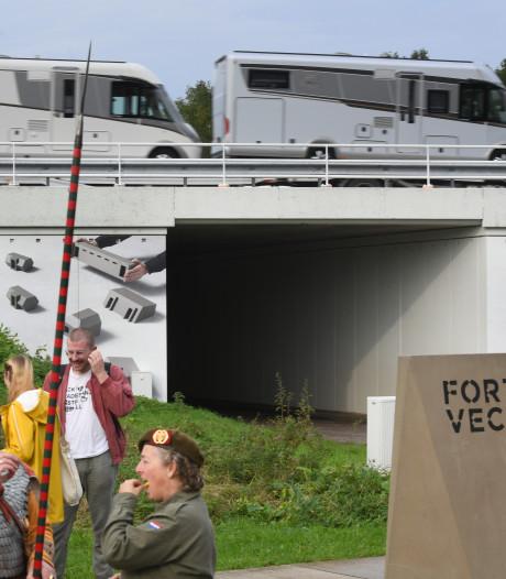 Tunneltje onder A12 bij Vechten veiliger én fraaier dankzij kunstwerk 'Levende Linies'