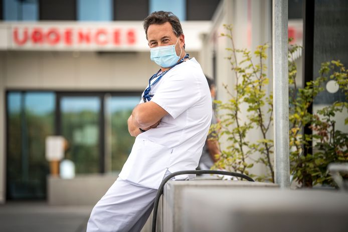 Philippe Devos, président de l'Association belge des syndicats médicaux (Absym).