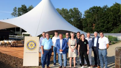 Rotaryclub Westerlo schenkt tent ter waarde van 40.000 euro aan Tongelsbos