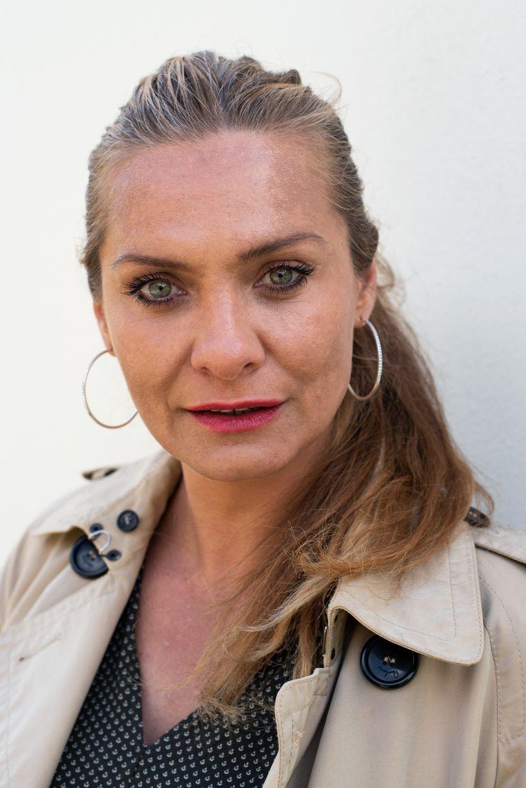 Voormalig miss Joegoslavië Inela Nogić (44) aarzelde aanvankelijk haar verhaal nog eens te vertellen.  Beeld Sabine van Wechem