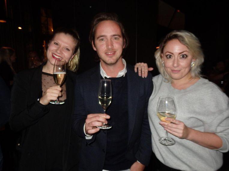 Bridget van Alphen (allround creative, freelance), Daan Pouw (5&33) en Manon van Buren (Your Ambassadrice) Beeld Schuim