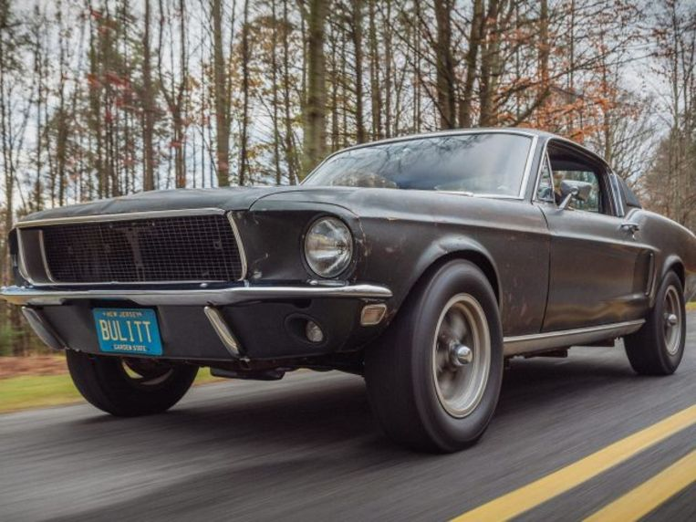 De originele Ford Mustang Bullitt
