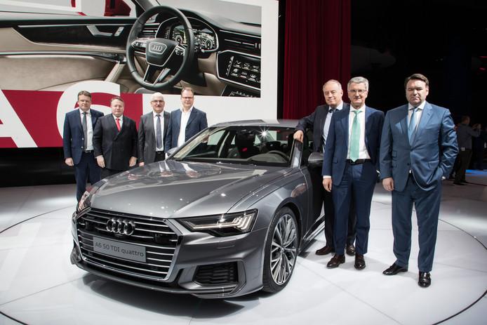 Nederlander Bram Schot (rechts op de foto) is binnen de raad van bestuur van Audi verantwoordelijk voor de wereldwijde verkoop en marketing.