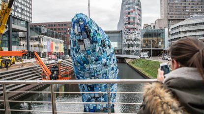 De 'Brugse' walvis staat in Utrecht
