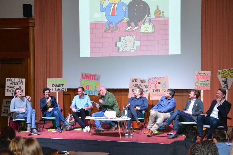 Politiek debat in Ursulinen Mechelen