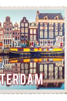Hollands glorie: aan de Amsterdamse grachten