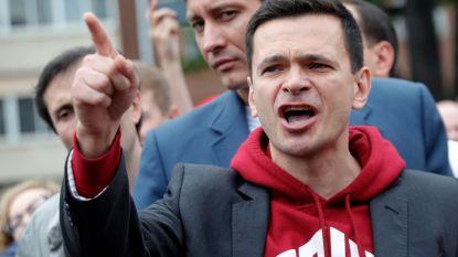Oppositieleider in Moskou voor de tweede keer tot 10 dagen cel veroordeeld