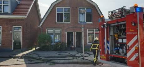 Woning in Enschede loopt veel schade op door slaapkamerbrand