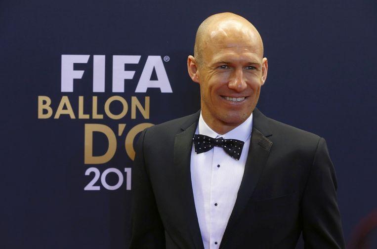 Arjen Robben Beeld reuters