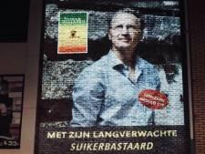 Muurfelicitatie voor Enschedeër Jaap Scholten komt maanden te vroeg
